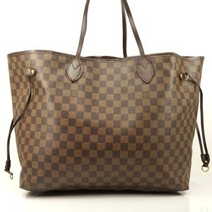 Auth Louis Vuitton Neverfull Gm Tote Bag #2095L67